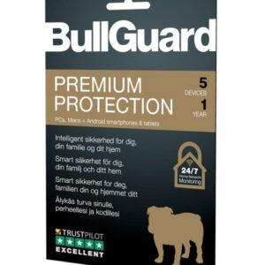BullGuard Premium Protection 2019, 1 År