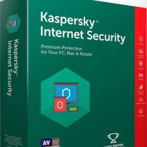 Kaspersky Lab Internet Security 2019, 3 licens(er), 1 År
